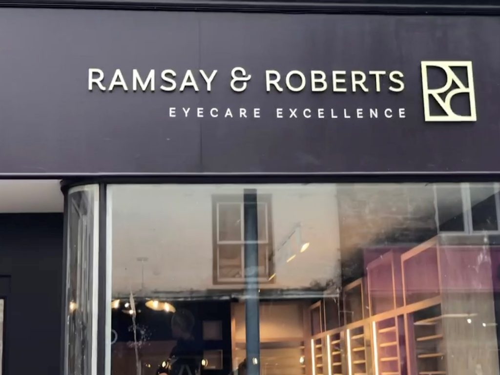 Opticians Ulverston (Ramsay & Roberts Eye Care Excellence)