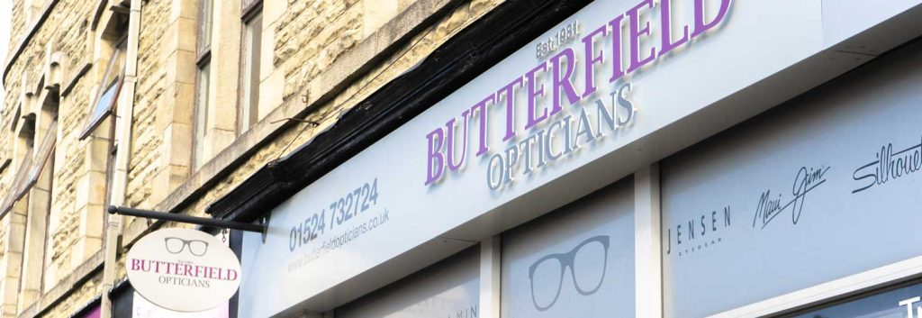 Opticians Carnforth (Butterfield)