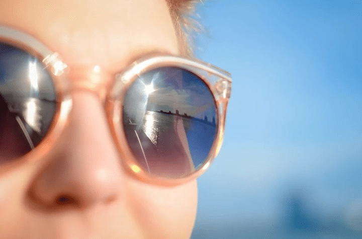 Eye Protection - protecting your eyes in bright sunlight
