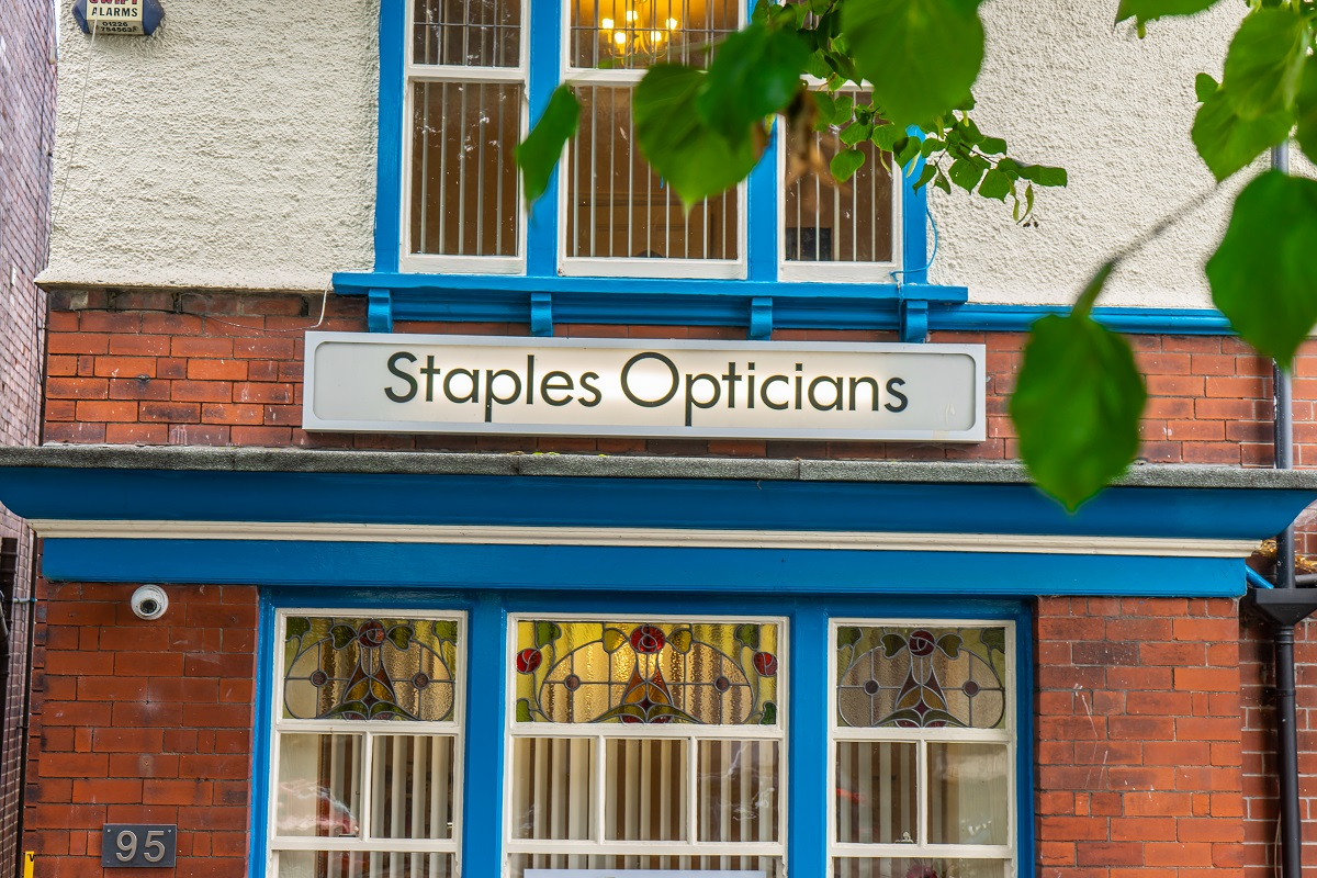 Opticians Rotherham (Staples Opticians)