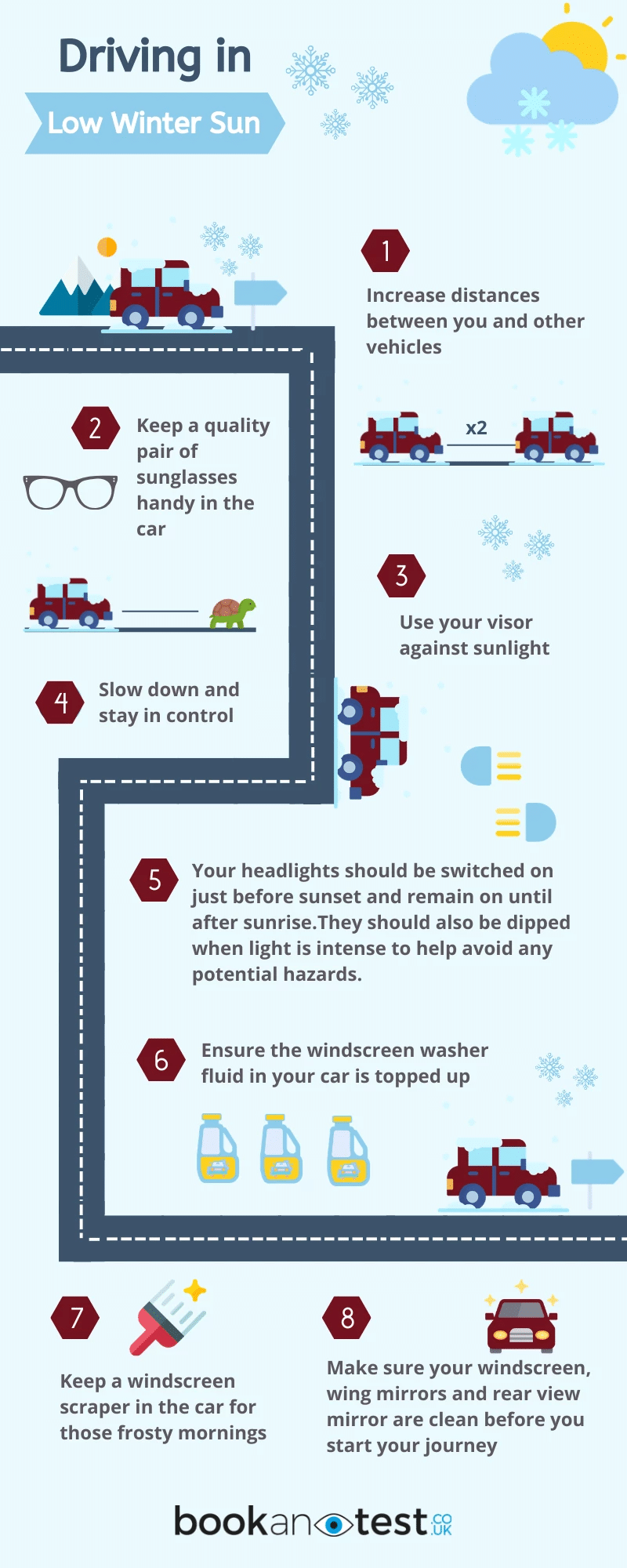 Safer Driving in winter