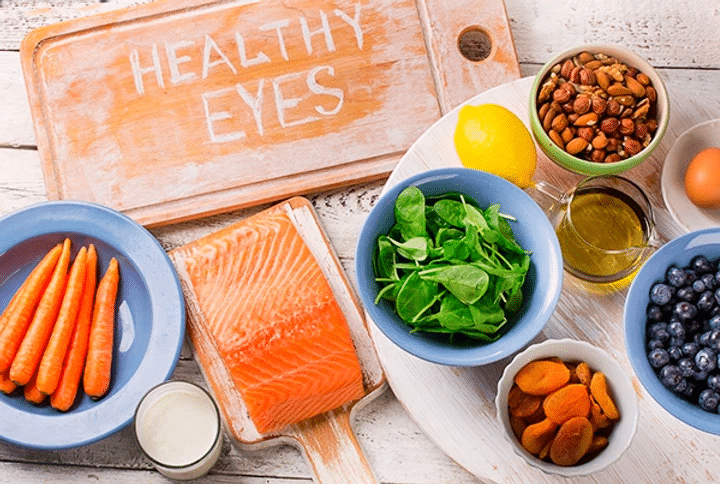 Vitamins for eyes and better vision