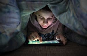 digital eye strain in children