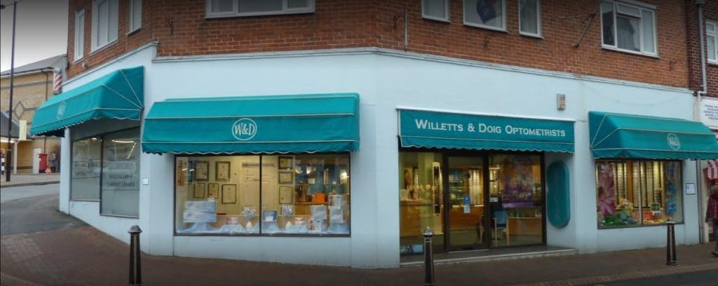 Opticians Cowes (Willetts & Doig)